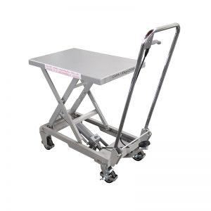BSA10 Aluminium / manuell saks rustfritt stål løftebord