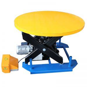 HRL1000 stasjonært løftebord med karusellplatespiller